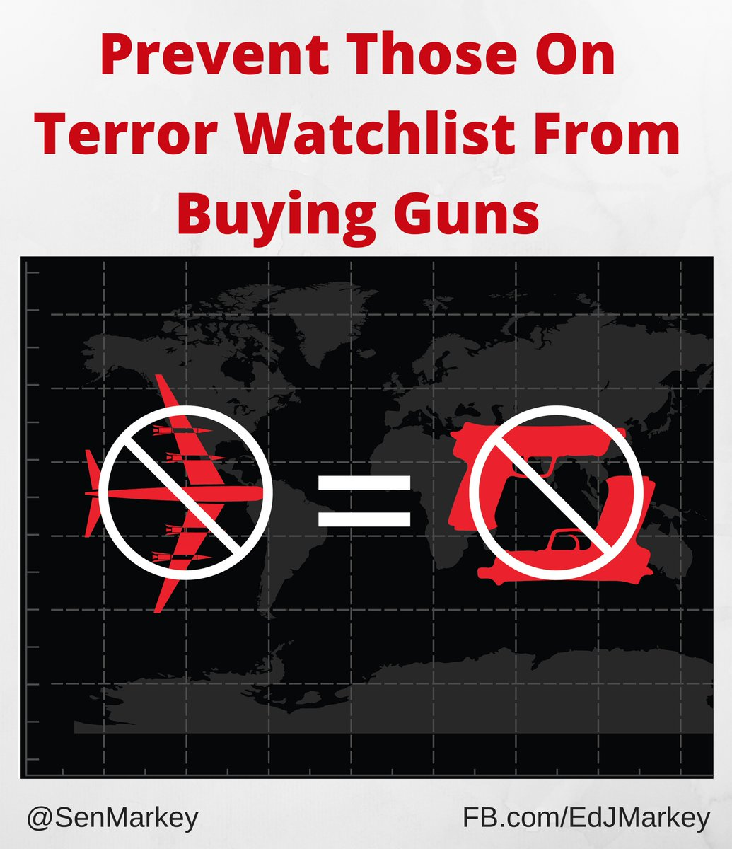 #ENOUGH. It's commonsense to prevent those on terror watchlist from buying guns. #filibuster https://t.co/L2EeQxSOya