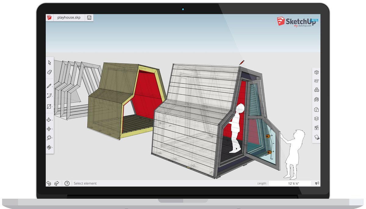 my.SketchUp is a beta preview of SketchUp running in a web browser. Get the full scoop: https://t.co/6Qx3Qi8JSf https://t.co/yOttygHmRS