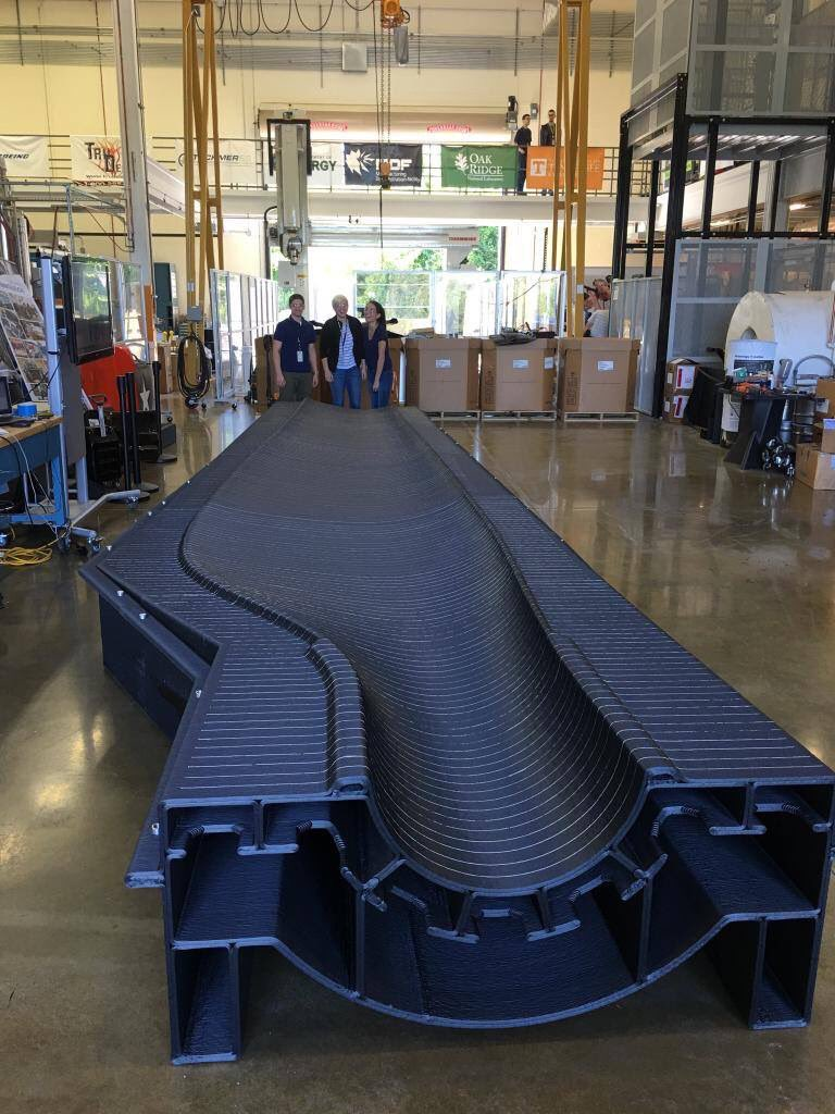 ORNL is #3Dprinting wind turbine blade molds w/the goal of making the process faster/cheaper https://t.co/ks7ymTJJ4I https://t.co/IdsidPJg21