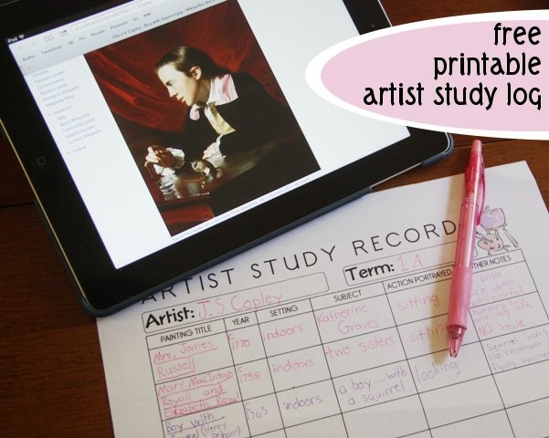 Keeping Track of Art Study with this free printable Art Log https://t.co/hOEC9qpYcd #ihsnet #homeschool https://t.co/Vp0hMYzPx0