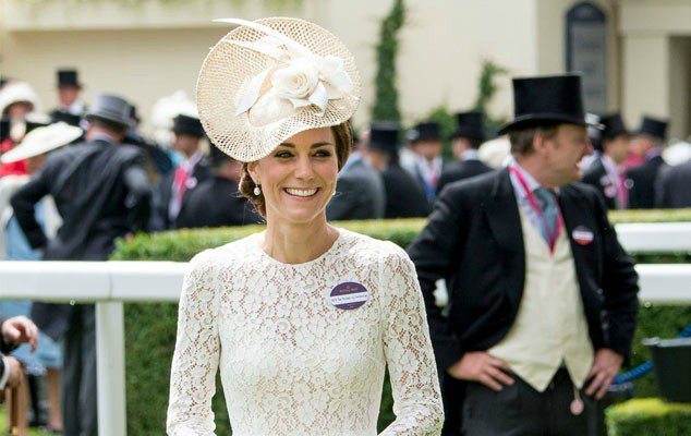 Kate Middleton continues to up her fascinator game—literally.