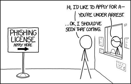 Funny. https://t.co/hS9pQ1mDZj #Phishing via @xkcdComic https://t.co/ICKQ6jL64W