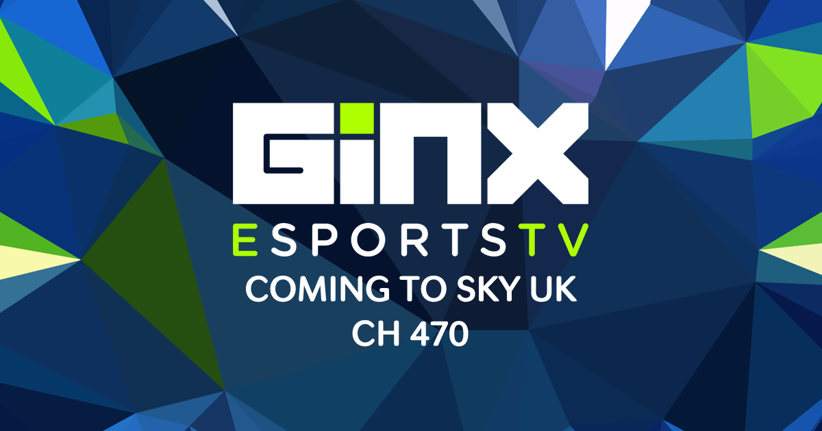 .@SkyUK and @ITV joined forces with us to launch the UK's only #eSports channel, GINX eSports TV! Watch from June 23 https://t.co/ipQOoS6Sml