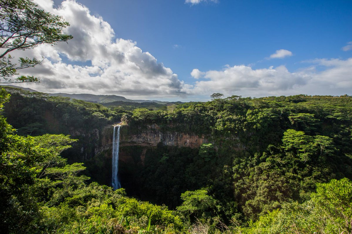 You have to witness this for yourself. Chamarel Waterfalls, the best waterfalls in Mauritius