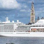 Grootste cruiseschip meert in #Antwerpen aan. #atvnieuws #Marina #cruiseschip #Antwerpen https://t.co/8MWAmEWxg6 https://t.co/QXp1b7zRlD
