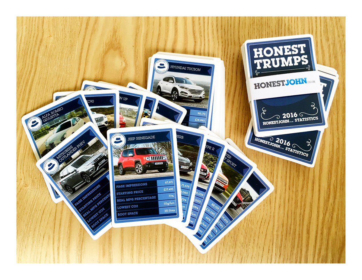 Fancy winning a limited edition Honest Trumps card game? We've 10 packs to give away! R/T & follow to enter... #win https://t.co/g4KulQ7Ak1