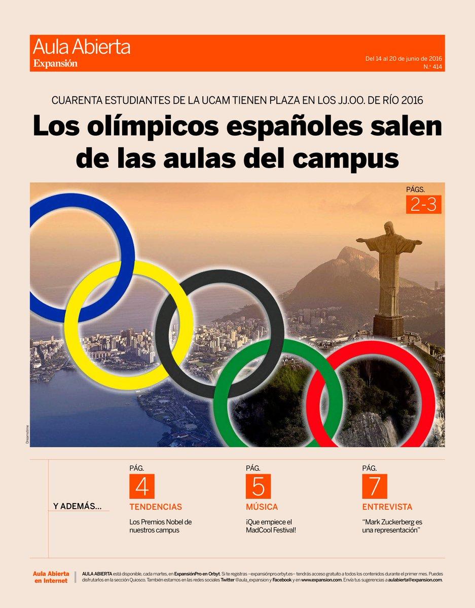 El modelo UCAM de apoyo al deporte, en la edición impresa de @expansioncom https://t.co/wWhKQrT17r