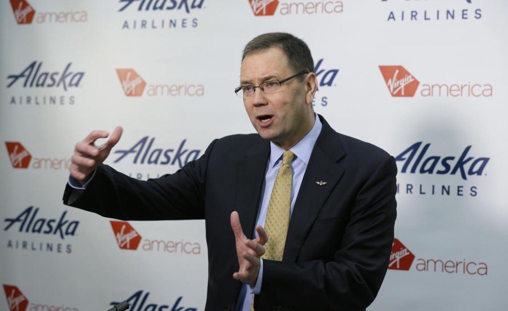 Alaska Airlines CEO says he might keep Virgin America
