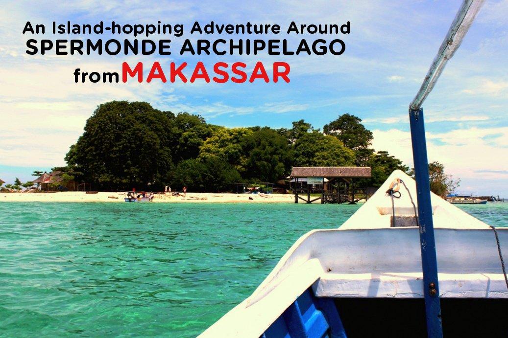 A quick island getaway around Spermonde Archipelago off the city of Makassar: