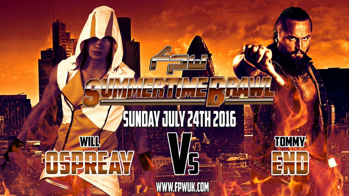 @tommyend vs @WillOspreay at FPW Summertime Brawl! #Sutton #wrestling 24/7/16 https://t.co/OeZ9WA7RhQ https://t.co/2xG2GIhdDX