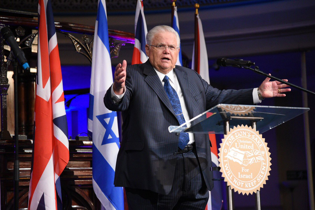 We support Israel bc all other nations were created by an act of men, but Israel was created by an act of God @CUFI https://t.co/B0NLelMqut