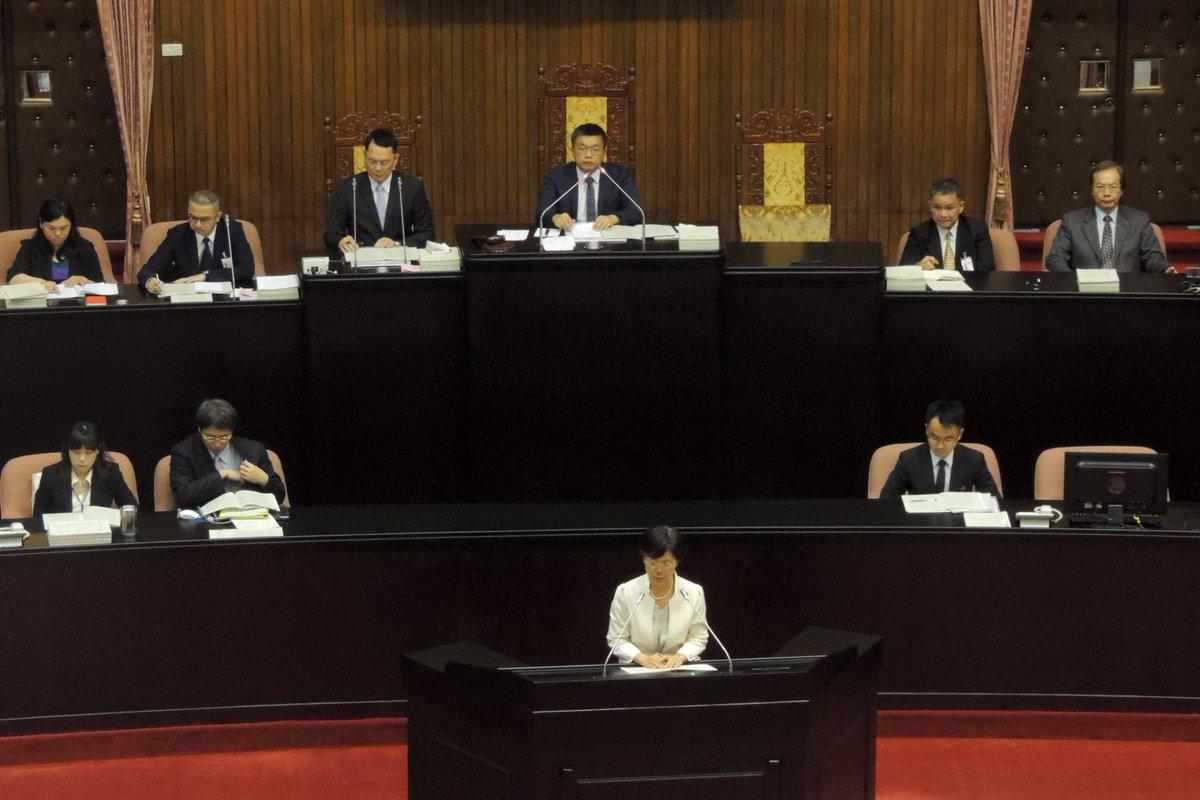 台湾国会——立法院,日前,6月14日通过『谴责六四屠杀临时提案』。此案由尤美女委员在六6月3日提出,并在之后十天征集了64位委员联署。台湾立法院总人数为113位国会议员,是案联署人数已过半,在大会无异议通过。 https://t.co/9dI7aKeeJQ