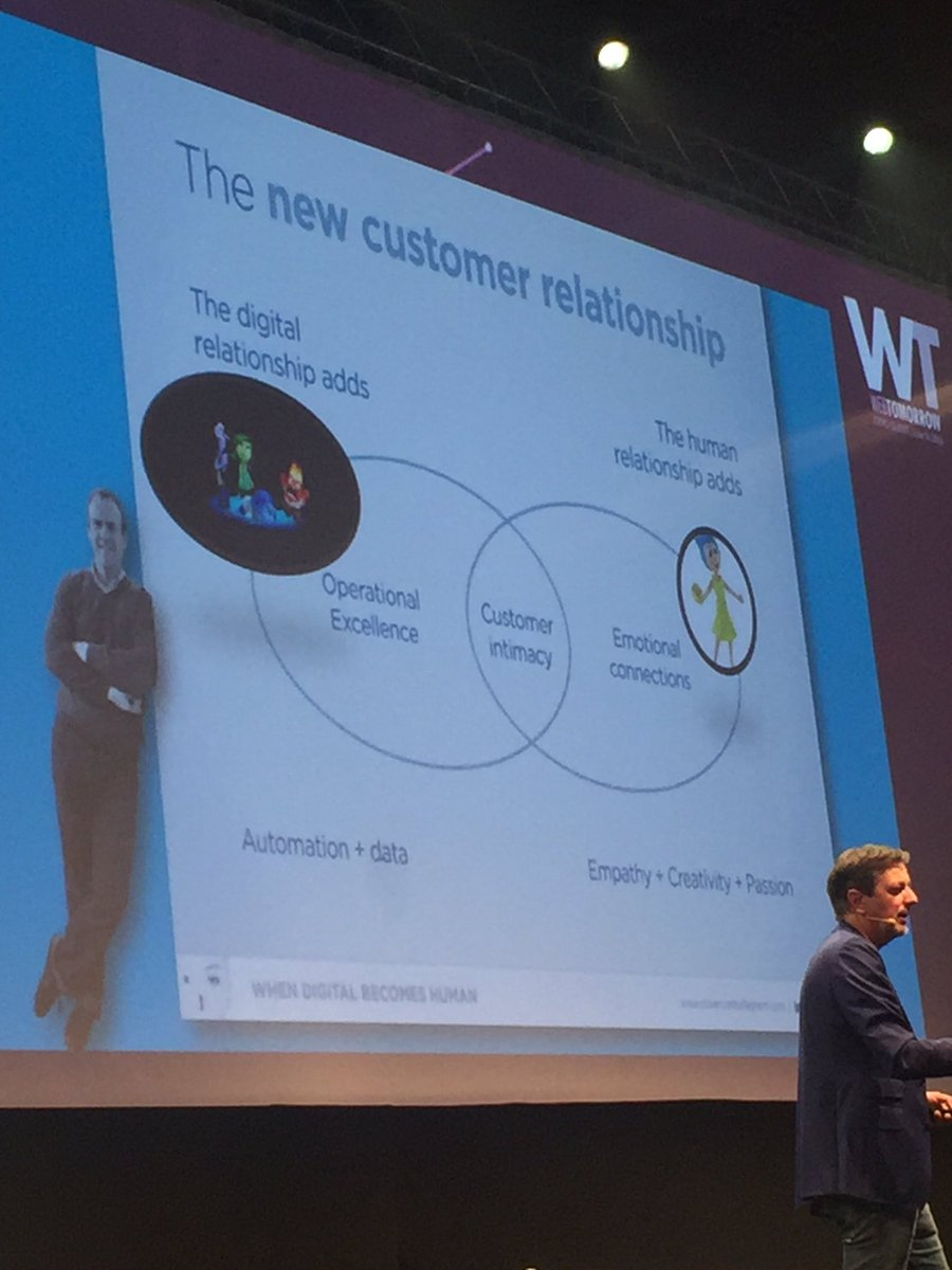 Automation will rule & people can concentrate on adding a human touch. Can't agree more! Thx @rikvera #webtomorrow https://t.co/cA6QZ9HUDm