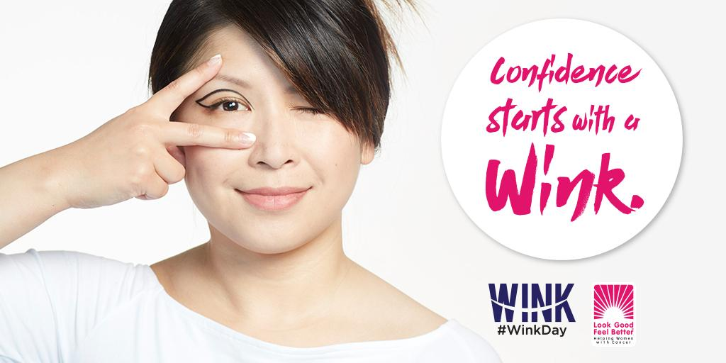 It's #WinkDay! Let's help women face cancer w/ confidence. RT to show your support & we'll donate $5 to @LGFBCanada. https://t.co/EWaKgOgrTJ