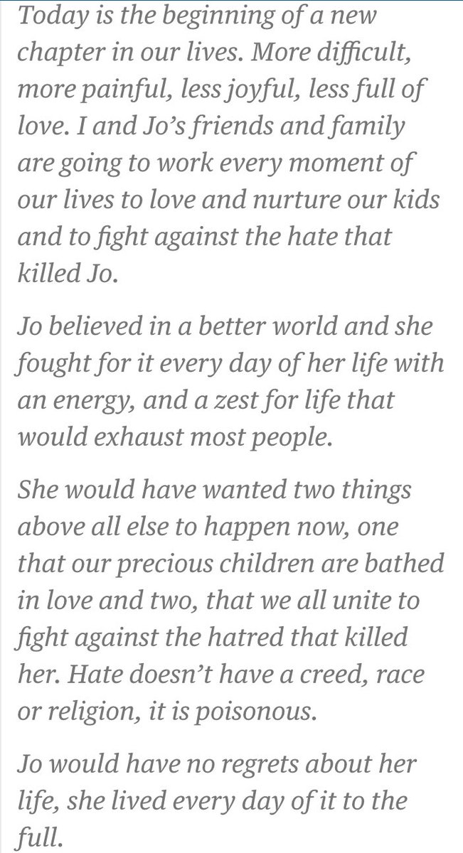 Beautiful, inspiring words from @MrBrendanCox. An example to us all https://t.co/y4qDBtkr1X