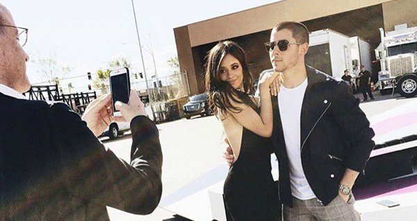 Nick Jonas and Camila Cabello aren't afraid to get too close in this Instagram photo: