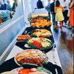 Party Buffet! #NOLA @eatingnola @VisitNewOrleans #event #wedding #neworleans #saints #food #NOLA https://t.co/QRu6AIYf2Y