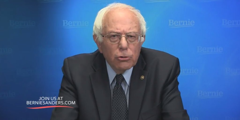 Sanders stays in race, but hints at dropping out https://t.co/9DbewWJxwB https://t.co/aSV0OJw7SG
