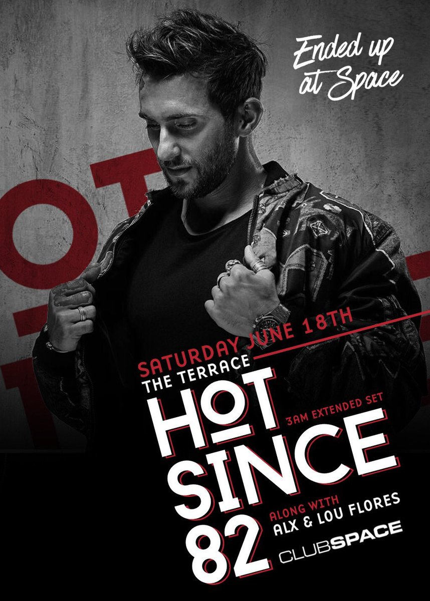2 tickets to see @hotsince82 Saturday @clubspacemiami...  WHO WANTS THEM?!?  RT to win!!!  https://t.co/s1zyttE6xB https://t.co/UCZAjpNrsx
