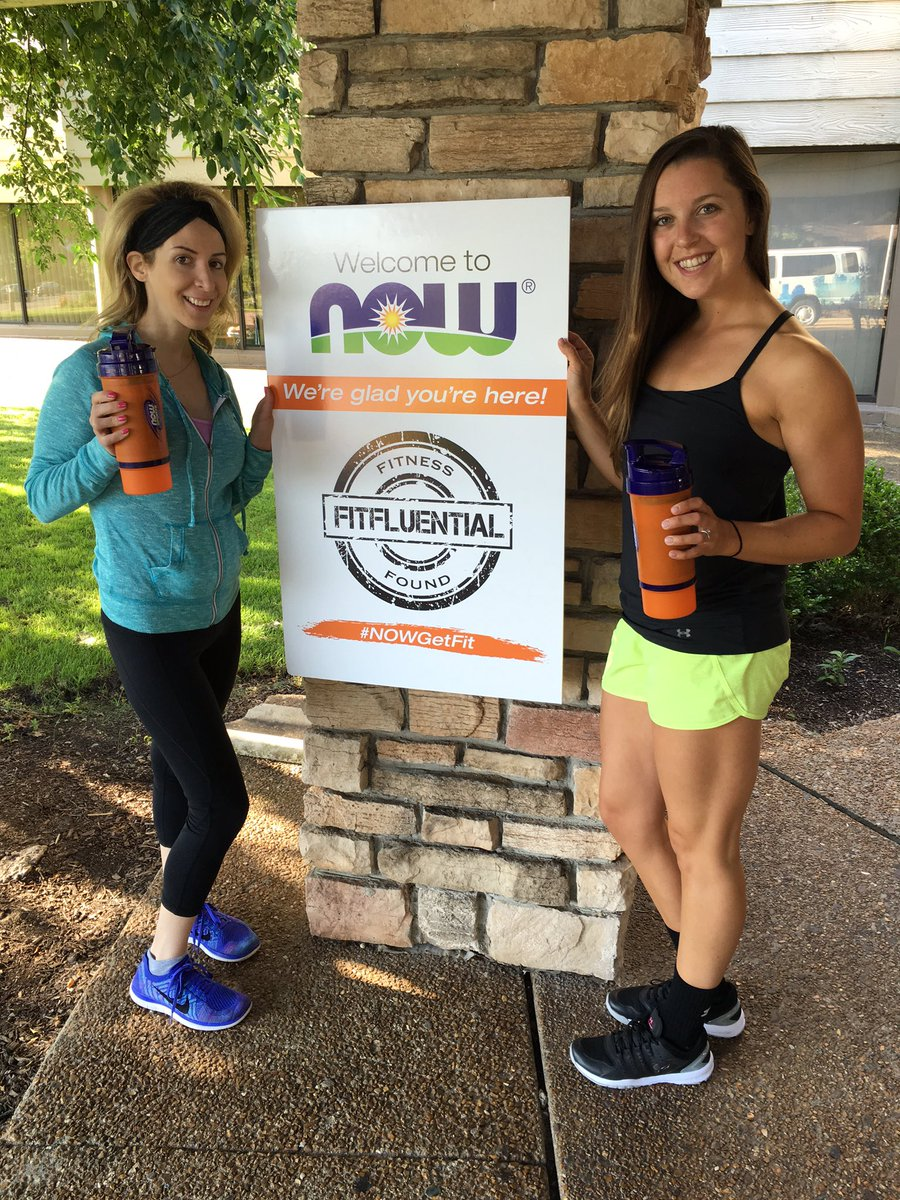 #NOWGetFit I'm Katie! This is @Powercakes and I! @NOWFoods @FitFluential best time ever!! https://t.co/Bs0TzKaHUU