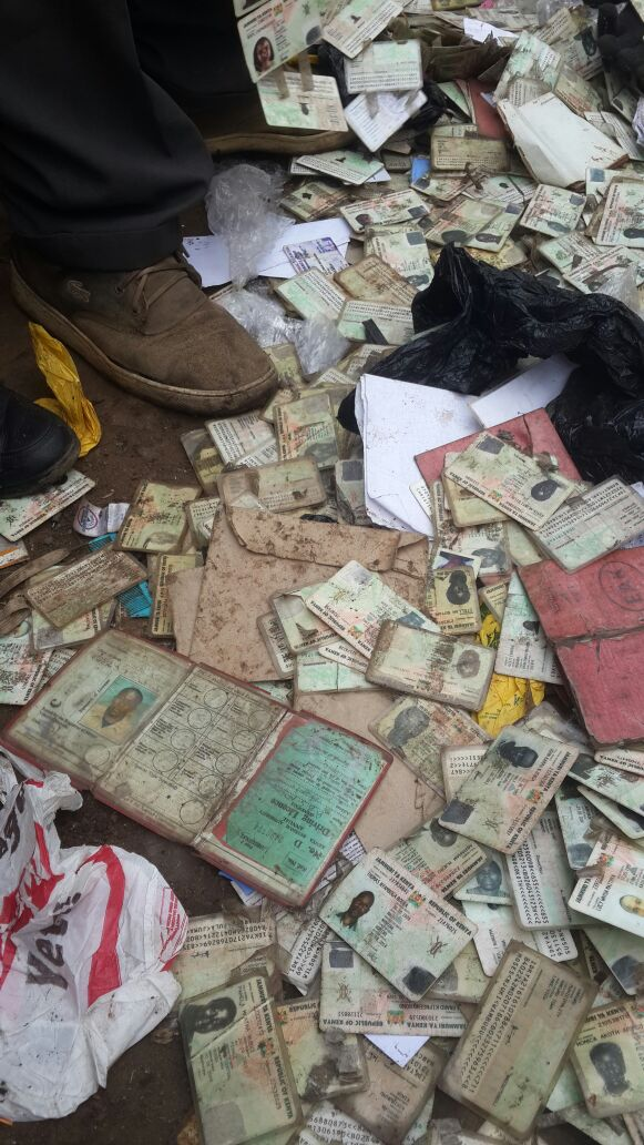 Kama umepigwa ngeta recently in #Nairobbery, please collect your stuff outside #TheGlory church, Haile Selassie Road https://t.co/7BE5W0GRSf