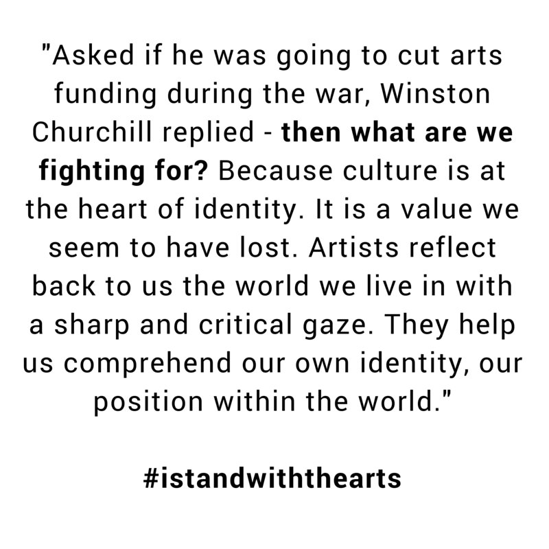Why fund the arts? Answers from our dedicated arts & culture volunteers: https://t.co/bKfvDwCb7j #istandwiththearts https://t.co/zQkFpUDaPX