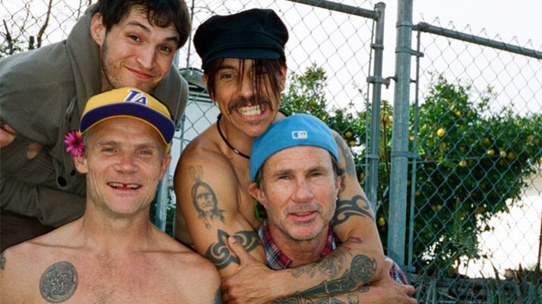 As red hot chili peppers continue their funky march towards the getaways june 17 release