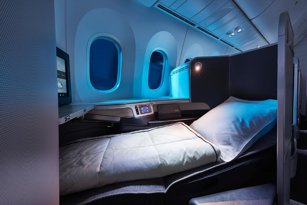 Bienvenue à bord 787 Dreamliner NY! @NY_NJairports-@yvrairport maintenant quotidien!