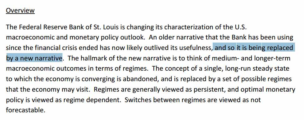 """it's all fixed: the St. Louis fed has a """"new narrative"""" https://t.co/w97AsDI6dL"""