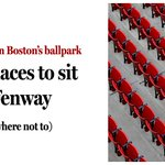 RT @BostonGlobe: Almost every seat at Fenway is a good one. But here's how to find the best. https://t.co/d9MXXA46EI https://t.co/X0a3Q4GetU