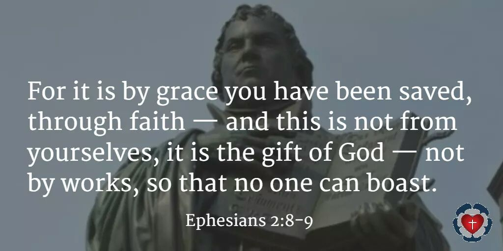 By grace you have been saved through faith. It is the gift of God. https://t.co/uc2mndJjem