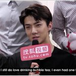 """""""Luhan is the person that I think when I drink bubble tea""""- Sehun, 2012 Sehun, 2016: https://t.co/DrenZNUpD5"""