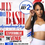 ** This Saturday **  **July Birthday Bash**  *Grown & Sexy*  -->138 Market St  11PM - 3AM  Call 299.5359 For Tix  https://t.co/IBPoyBYzDK