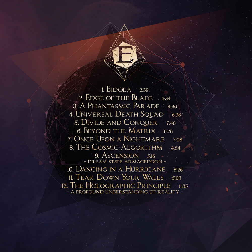 The tracklisting of our new album The Holographic Principle has been revealed. More info https://t.co/DiKfsiSYD0! https://t.co/R4QOuKufwk