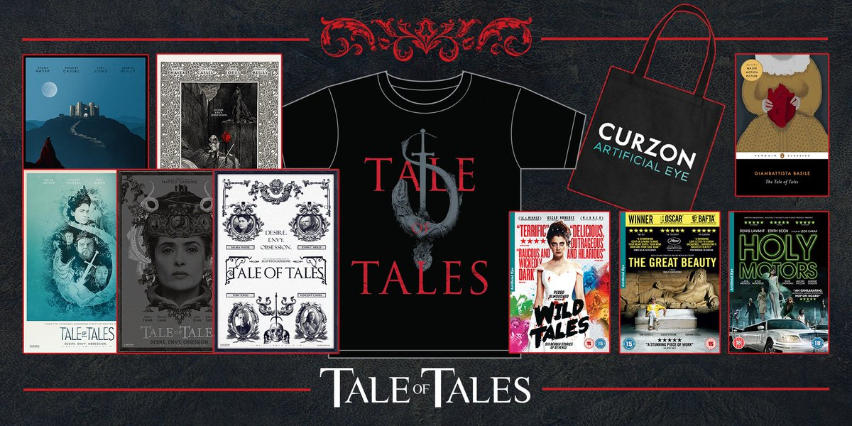 """Delightful descent into darkness"" ★★★★★ Peter Bradshaw #TaleOfTales RT for chance to win this fantastic bundle! https://t.co/dk99YKU5St"