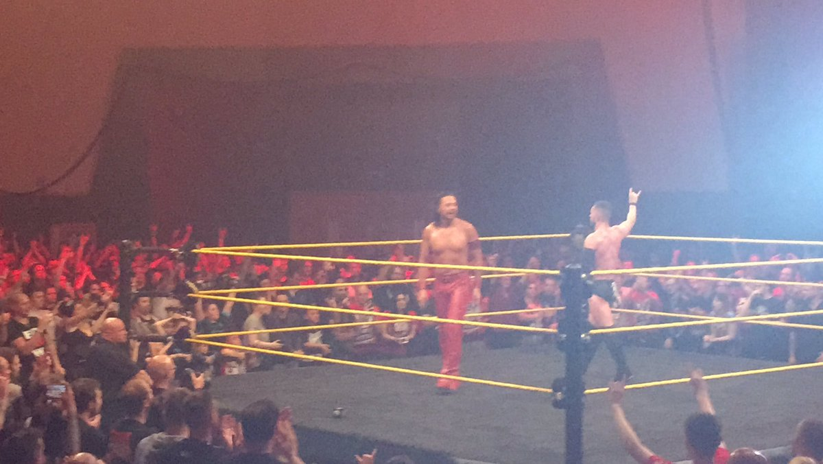 @ShinsukeN thank you & everyone else for coming to Plymouth. You are all welcome at anytime. #NXTPlymouth https://t.co/o94tWaPrG7