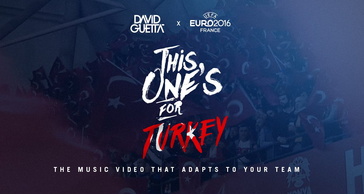 RT @davidguetta: This One's For You Türkiye !!! @TFF_Org @TurkishAirlines