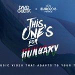 This One's For You Magyarország !!! https://t.co/sYGy64W6Gp @MLSZhivatalos #HUN #EURO2016 #DavidGuetta https://t.co/UtW6dWPLjm