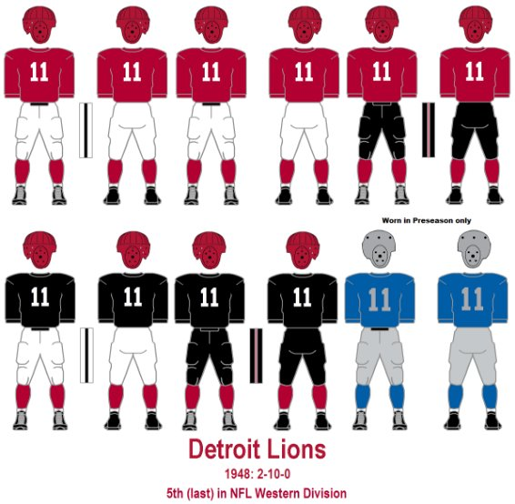 @NFL_Leaks @BradGalli Looks like Lions will be wearing some 1940's throwbacks, according to that leak. @UniWatch https://t.co/bWL5YezecV