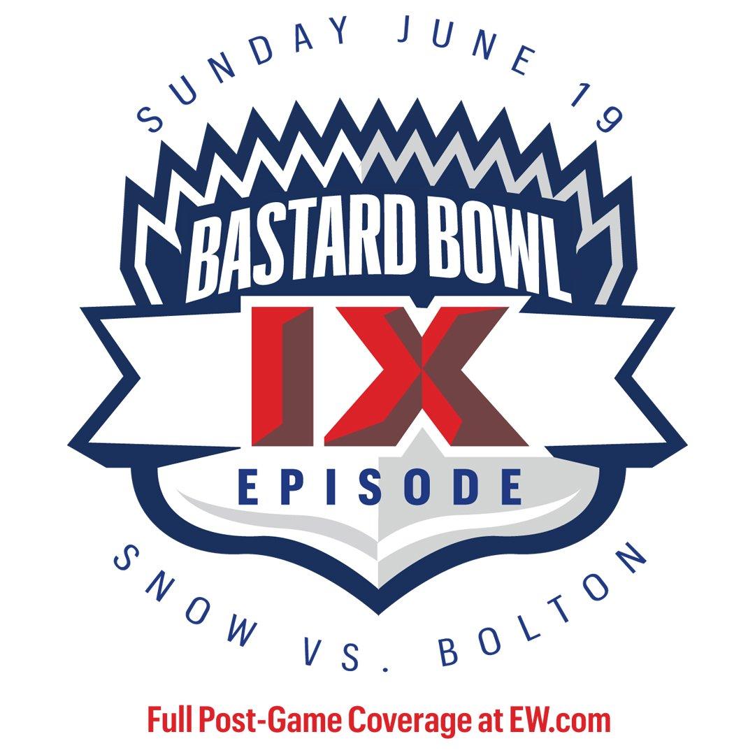 The @GameOfThrones Bastard Bowl now has a logo, and it's amazing (thx Jef Castro) #SundaySundaySunday! https://t.co/Jkd4oSU2lR