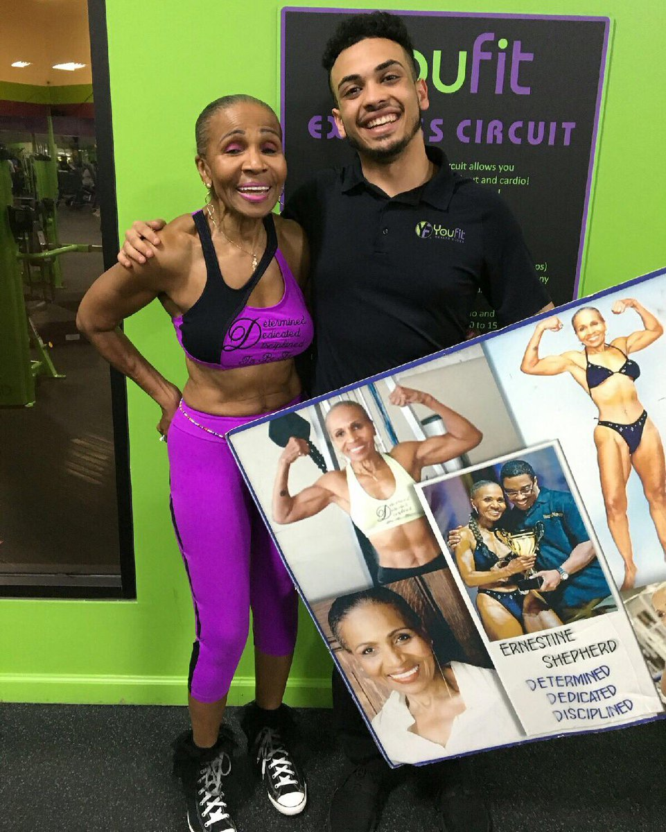 Happy belated 80th birthday to the beautiful and inspiring Ernestine Shepherd! https://t.co/jDW3CPPp0d