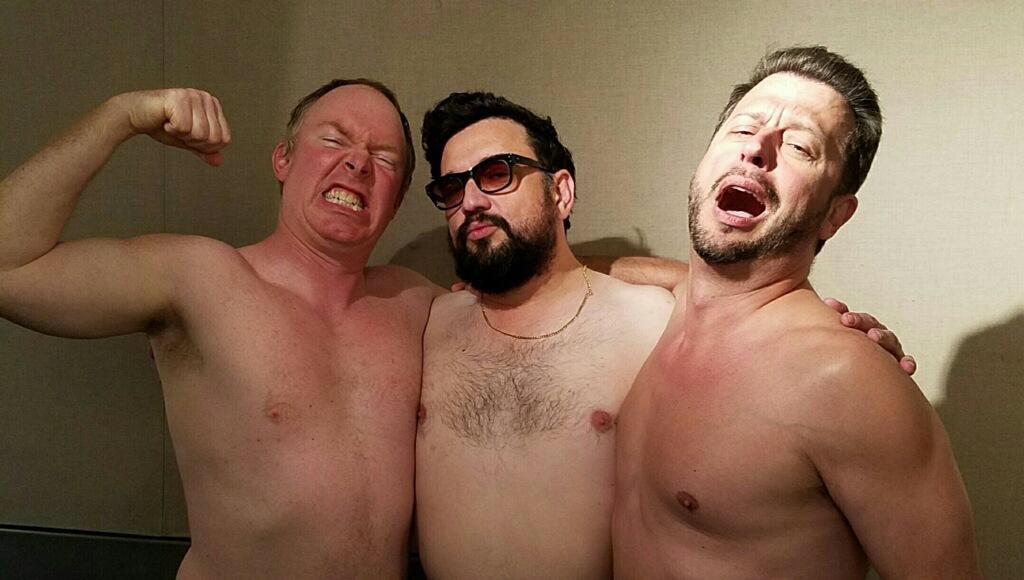 Today's #wrapupshow guest @MrHoratioSanz with @salgovernale and @cwotd https://t.co/HdSk71uchm