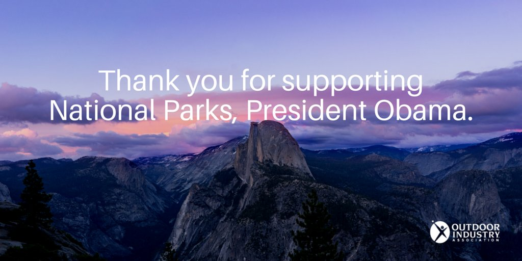 Thanks @BarackObama, for promoting, protecting and expanding our national parks. #ElPrezAtElCap https://t.co/ggwM2sYsUL