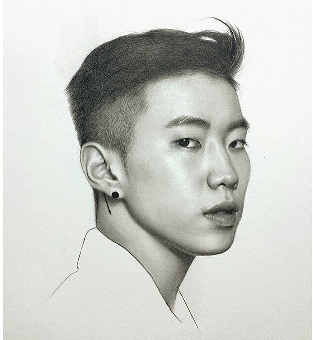 Amazing pencil drawing of #JayPark @JAYBUMAOM by s_ilhwan on IG (https://t.co/cOEFuBEK2r) https://t.co/ZlNeF5wY0E