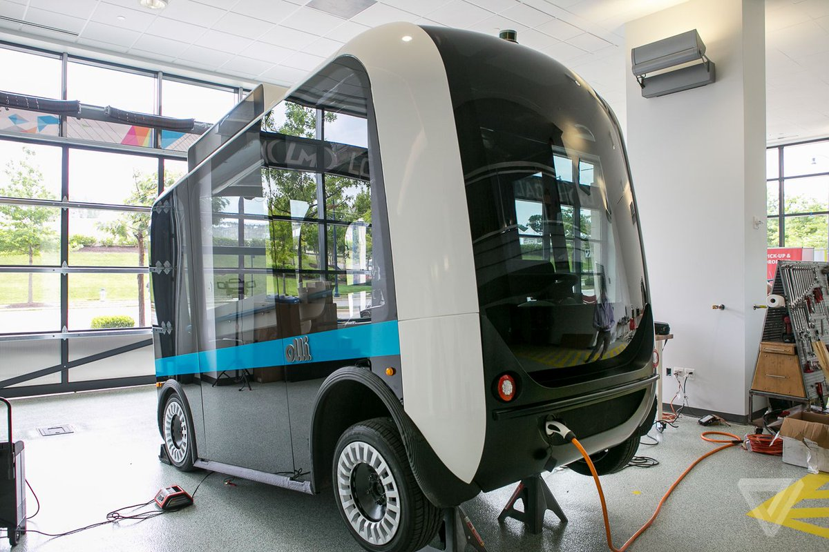 This autonomous, 3D-printed bus starts giving rides in Washington, DC today https://t.co/ie8buQFokT https://t.co/DHsyCFnRzf