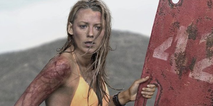 Blake Lively goes swimming with sharks to help save them