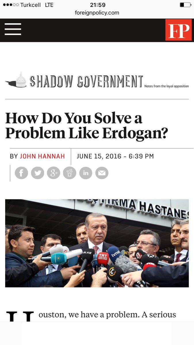 Dünyayı kana bulayan neocon zihniyetin bir temsilcisi, 'Erdoğan bizim için risktir' demiş.El-hak öyledir. Hamdolsun. https://t.co/ZD6Pe5Rt4N