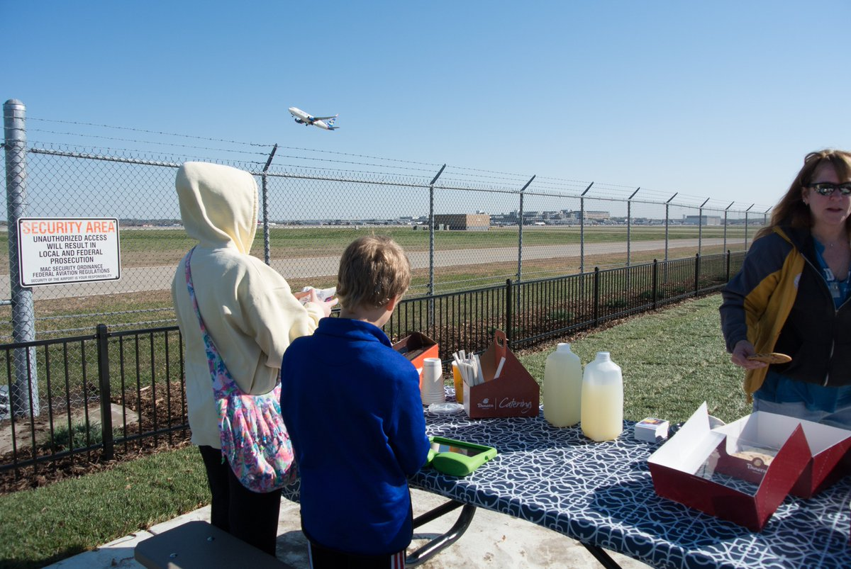 Today is International Picnic Day. Plan yours at our aircraft viewing area. Info at