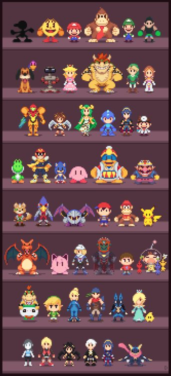 Super Low-Res Bros par Davitsu https://t.co/9YG2WDWpBK