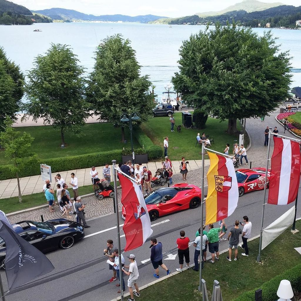 This is the view from my office today.. Velden am Wörthersee is so beautiful, I can't wait… https://t.co/iCQMZzMGx5 https://t.co/NZPGHx8PSR